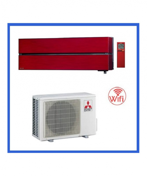 Condizionatore Climatizzatore Mitsubishi Electric Kirigamine Style 9000 BTU R-32 MSZ-LN25VG/R Ruby Red WI-FI Optional <strong>PROMO</strong>