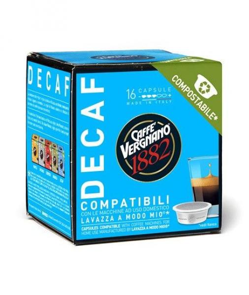 Capsule caffè Compatibili Lavazza A Modo Mio ®* Decaffeinato