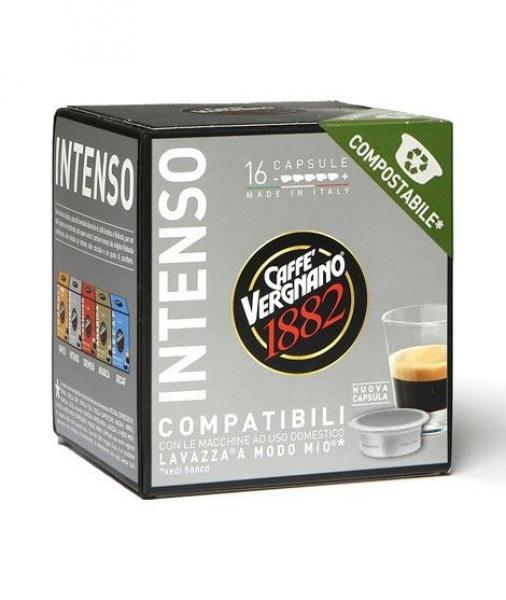 Capsule caffè Compatibili Lavazza A Modo Mio ®* Intenso