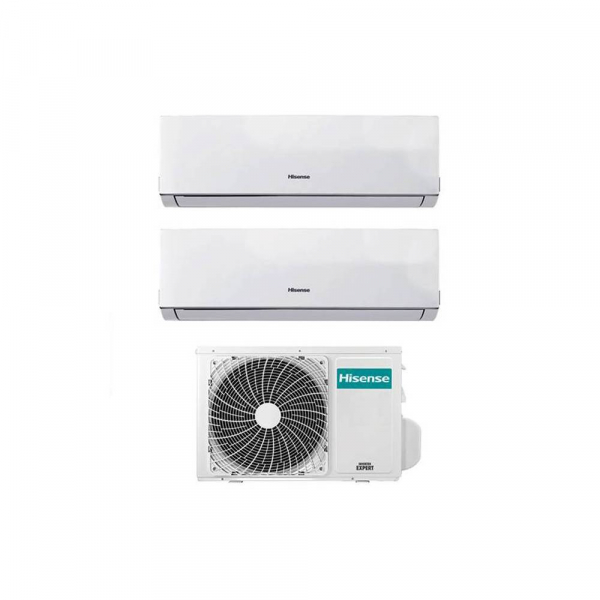 Condizionatore Inverter Hisense New Comfort Dual Split 7000+12000 Btu A++