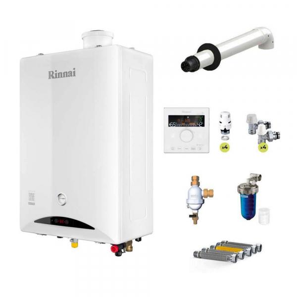 Caldaia Rinnai a condensazione Zen 29 kW ErP a gpl