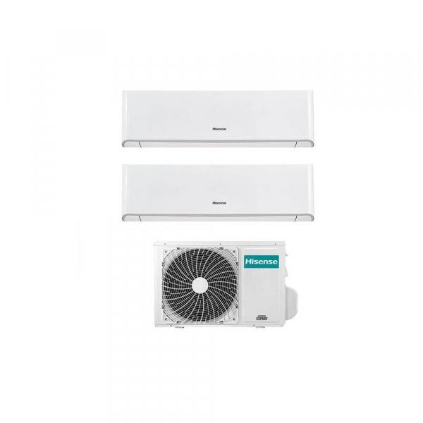 Condizionatore Hisense Energy Dual Split Inverter 9+9 9000+9000 Btu WiFi 2AMW50U4RXA R-32 A++