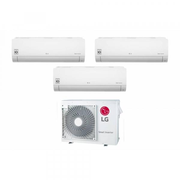 Condizionatore LG Trial Split Inverter 9+9+9 9000+9000+9000 Btu Libero EQ MU3R19 R32 A+++