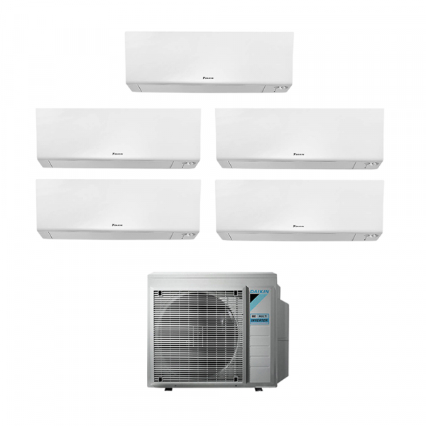 Climatizzatore penta split Daikin Perfera FTXM-R 5+5+5+15+18 5MXM90N9 con wifi in A++