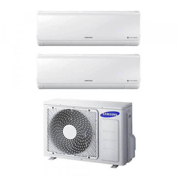 Samsung New Style Climatizzatore dual split 7000+7000 btu in A++