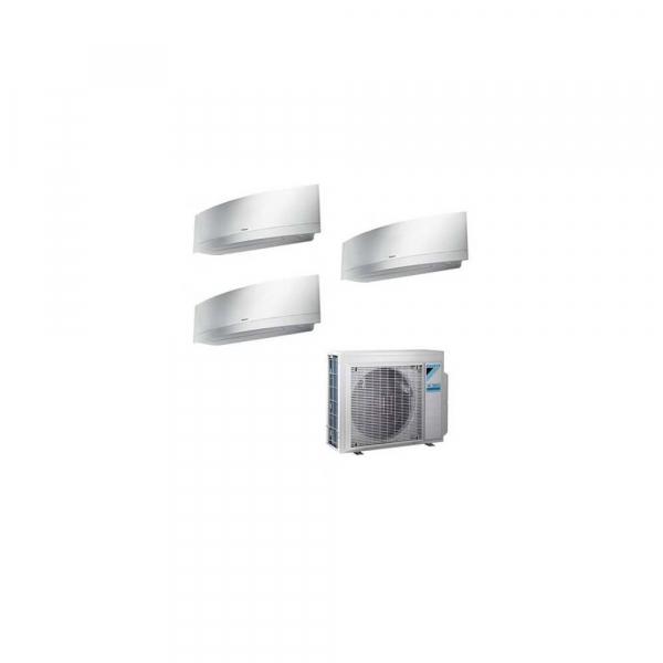 Condizionatore Daikin Trial Split Inverter Emura White 9+9+9 9000+9000+9000 Btu A+++ WiFi R32 3MXM68M