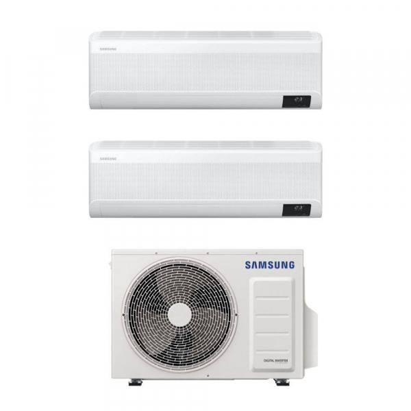 Samsung WindFree Avant dual split da 7000+9000 btu con esterna da 4 kW
