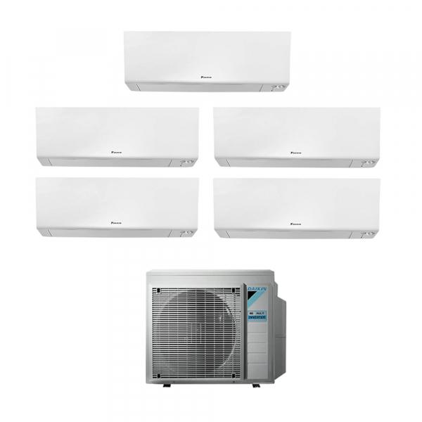Climatizzatore penta split Daikin Perfera FTXM-R 5+5+5+7+24 5MXM90N9 con wifi in A++