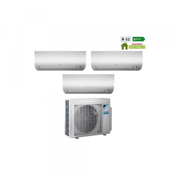 Condizionatore Daikin Trial Split Inverter 7+12+15 7000+12000+15000 Btu A+++ R32 FTX M 3MXM68M