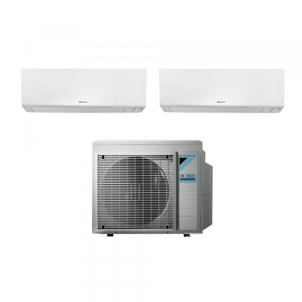 Climatizzatore dual split Daikin Perfera FTXM-R 12000+15000 2MXM68N con wifi in A++