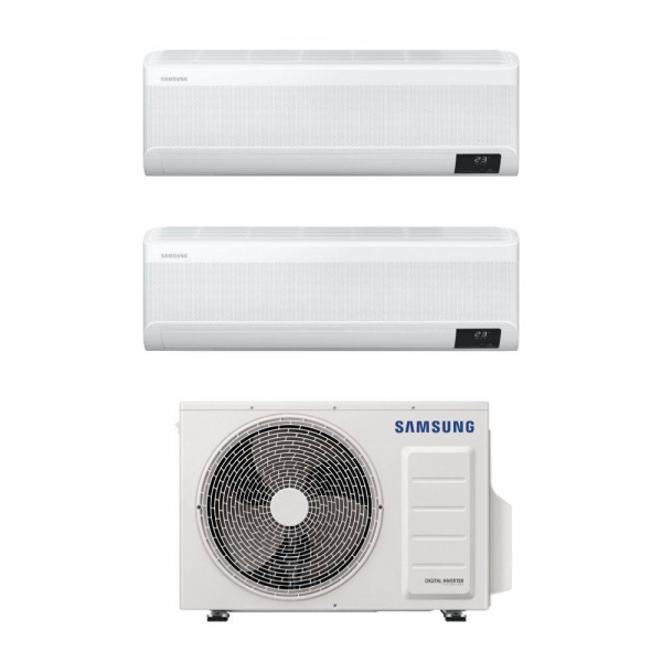 Climatizzatore Samsung WindFree Avant wifi dual split 9000+12000 btu inverter A+++ in R32 AJ040TXJ2KG sconto in fattura 65%