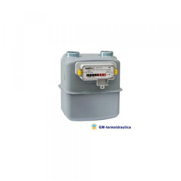 Contatore Misuratore Gas Samgas Group RS/2001 Inclusa la staffa di montaggio