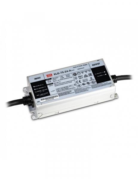 Alimentatore MeanWell 75W 24V IP67 XLG-75-24A