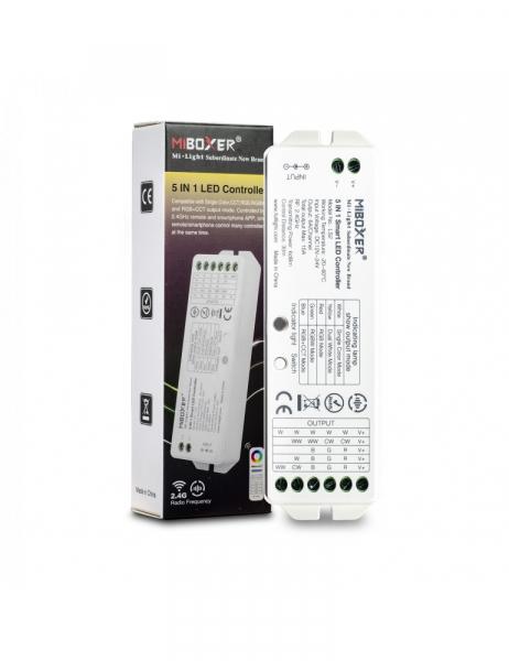 MiBoxer Mi-Light Ricevitore Universale 12/24V 15A Autosync