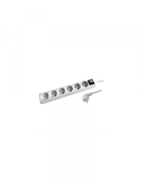 Power Strip 6 Schuko Plug 16A – Switch – 1.5m cable en