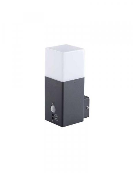 Applique da Giardino Luce da Esterno per E27 con Sensore – IP44 – Vadra 21L-UP