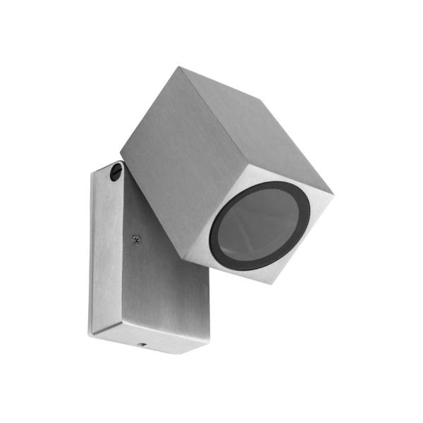 Applique da Muro per Faretto Led GU10 – da Esterno IP54 – MISE Alluminio en