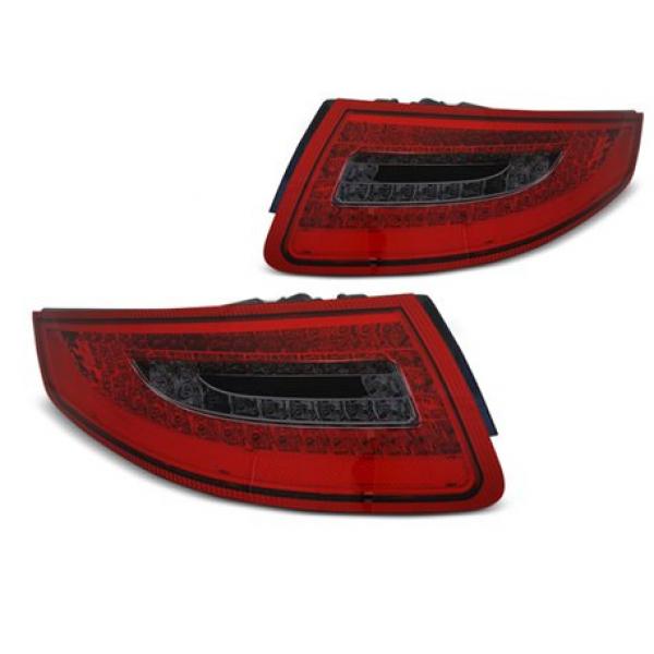 Coppia fari Led posteriori Porsche 911 / 997 04-09 rossi e fume