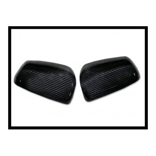 Calotte coprispecchi in carbonio Mitsubishi Evo X