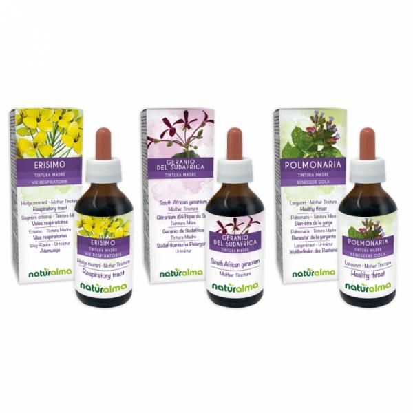 Routine Vie respiratorie (Erisimo + Geranio del Sudafrica + Polmonaria) 3 x 100 ml – Naturalma AP5-Pack 181-defaultCombination