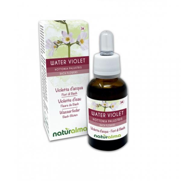 Water Violet Fiori di Bach 30 ml liquido analcoolico – Naturalma