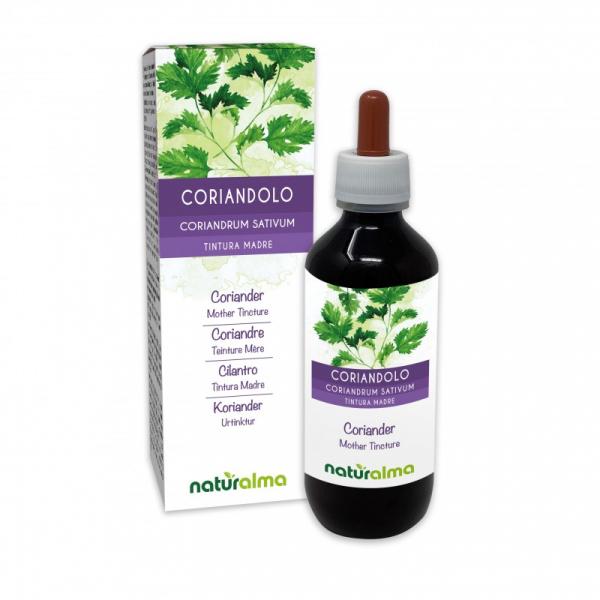 Coriandolo Tintura madre 200 ml liquido analcoolico – Naturalma