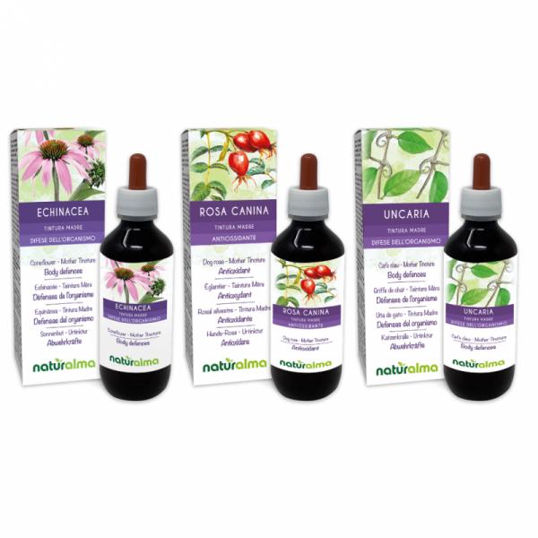 Routine Immunitario (Echinacea + Rosa canina + Uncaria) 3 x 200 ml – Naturalma AP5-Pack 177-defaultCombination