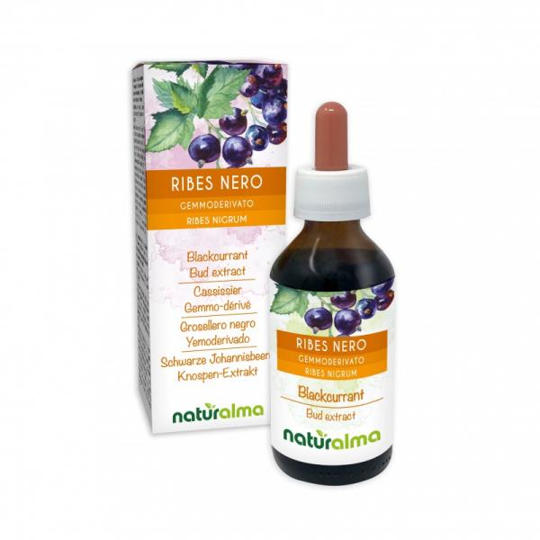 Ribes nero Gemmoderivato 100 ml liquido analcoolico – Naturalma
