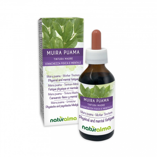 Muira Puama Tintura madre 100 ml liquido analcoolico – Naturalma