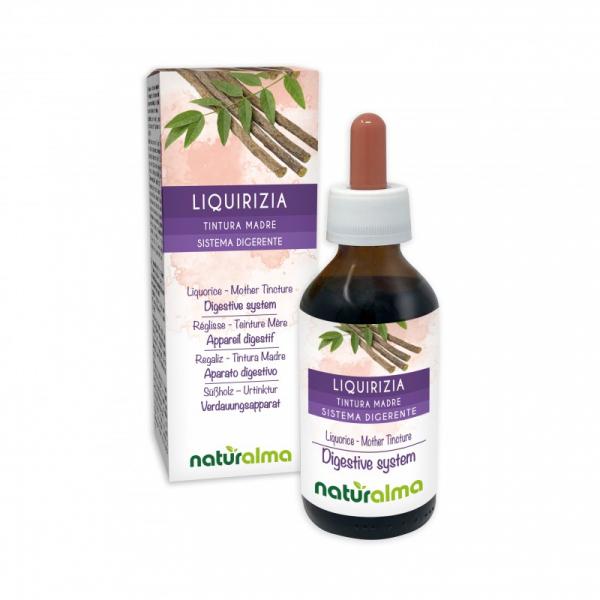 Liquirizia Tintura madre 100 ml liquido analcoolico – Naturalma