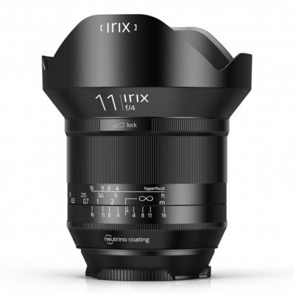 Irix Obiettivo blackstone 11mm f/4.0 per canon eos fuoco manuale