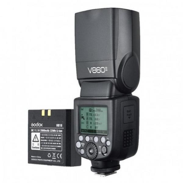 Godox Speedlite Ving V860II Canon Kit batteria al litio