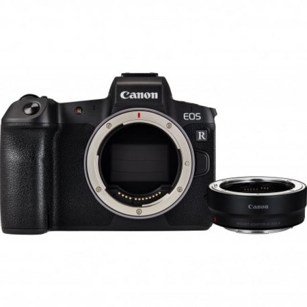 Canon EOS R body Full-Frame + adattatore EF-EOS R – GARANZIA CANON PASS ITALIA 4 ANNI