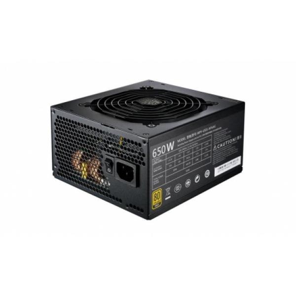Alimentatore MWE Gold 650W – Modulare, 80Plus Gold, Active PFC, 120mm fan