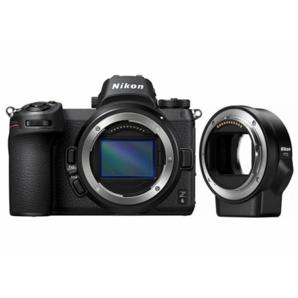 Nikon Z6 Body + Anello adattatore FTZ Garanzia Nital 4 anni