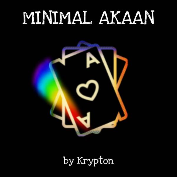 Minimal Akaan by Kripton