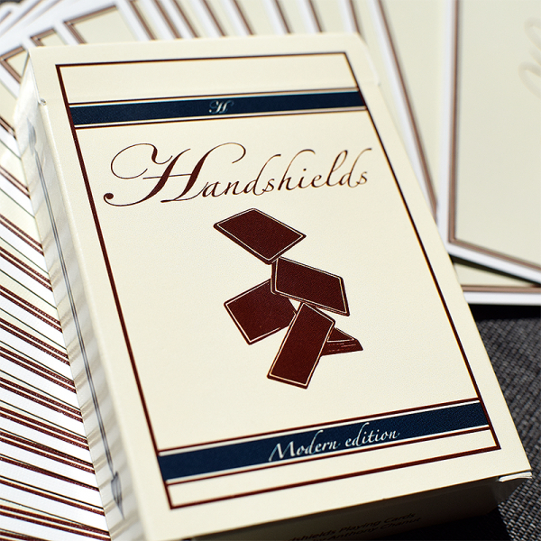 Handshields playing cards
