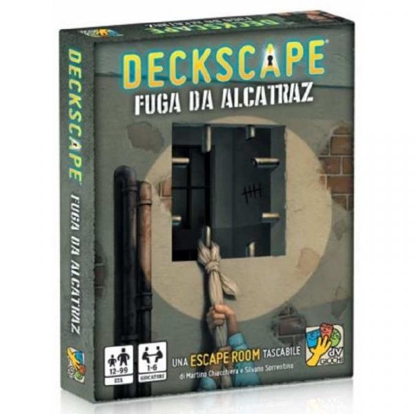Deckscape Fuga da Alcatraz