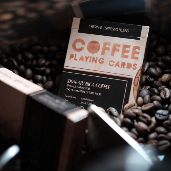 Coffee Playing cards by Edo Huang