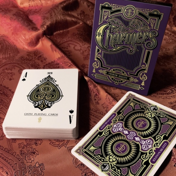 Charmers Playing Cards Purple