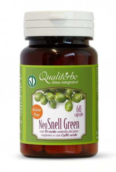 NEO SNELL GREEN 60 capsule Azione Peso – Controllo sicuro e naturale del peso corporeo