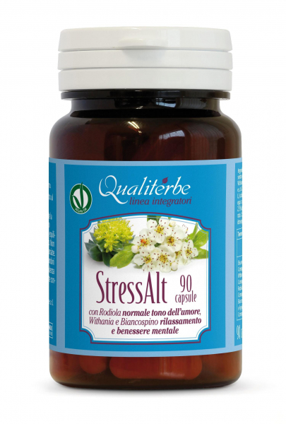 STRESS ALT 90 CAPSULE (Vegan Ok) Antistress