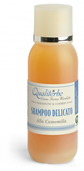 Delicate shampoo for fair hair with 60% infusion of Chamomile