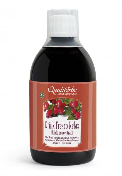 Drink Fresco Relax 500 ml Drenante ad azione rilassante e antiossidante.