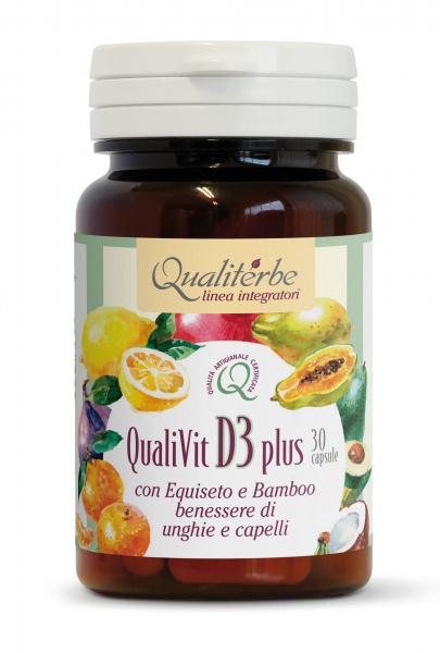 QualiVit D3 Plus 30 Capsule Integratore Vitamina D
