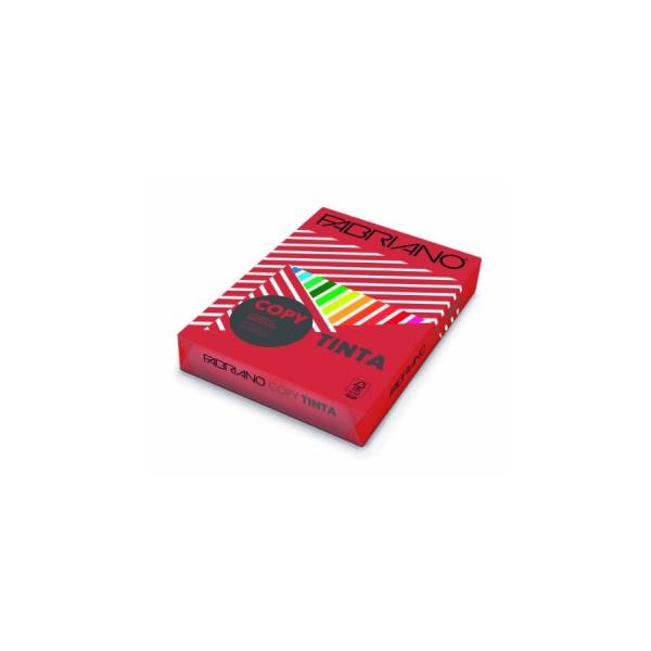 Risma Copy Tinta A4 Rosso 100 fogli 200 gr