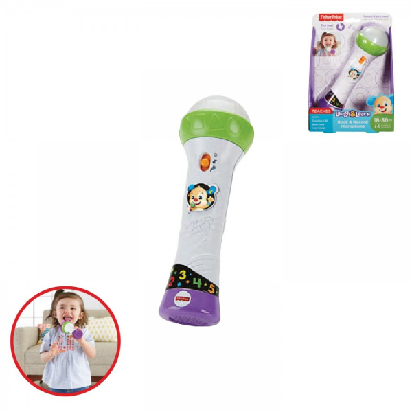 Microfono Baby Rock Fisher Price