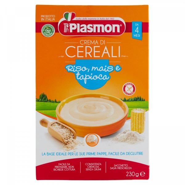 Cereali di riso mais tapioca 230g Plasmon