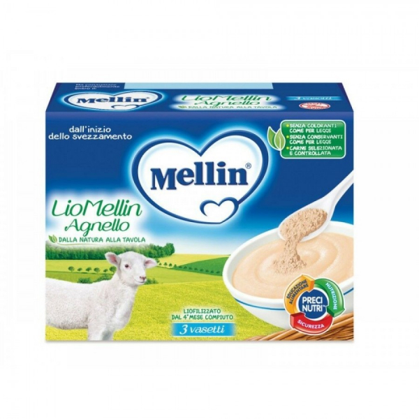 Liofilizzato agnello 3x10g mellin