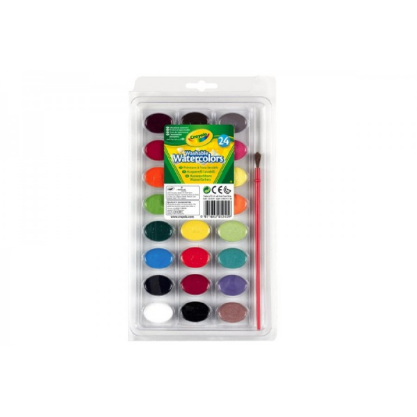 "Acquerelli ""I Lavabillissimi"" da 24 pezzi Crayola"